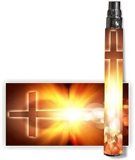 Battery Sticker Skin Fits: eGo/Vision/Other Type Vape Cover Decal Wraps -CROSS