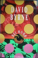 David Byrne Talking Heads Rei Momo 1989 Vintage Music Record Store Promo Poster