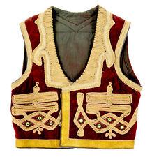 Vintage Rock star Morrison Hendrix Velvet Vest Mirrors