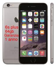 Apple iphone 6s Plus 64gb Grado A Rigenerato Garanzia 12 Mesi