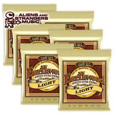 6 Sets! Ernie Ball Earthwood Light 80/20 Acoustic Strings 2004