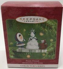 Hallmark 2001 Frosty Friends Keepsake Ornament #22 Christmas Collectible Decor
