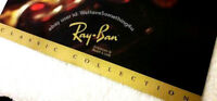 Vintage Ray Ban Sunglasses B&L Classic Collection Salesman Catalog Sheet 1990s