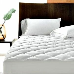 """EXTRA DEEP QUILTED MATTRESS PROTECTOR 12"""" FITTED BED COVER:ALL SIZES"""