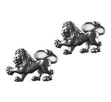 Lion Cufflinks - Animal Accessories - Anniversary Gift - Handmade - Gift Box