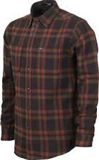 MATIX Lincoln Flannel Shirt (M) Tobacco