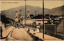 PC VENEZUELA, PUENTE DE LA TRINIDAD, CARACAS, VINTAGE POSTCARD (b10991)