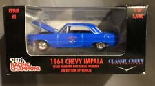 Classic Chevy 25th Anniversary Issue #1 1964 Chevy Impala Cobalt Blue 1:64