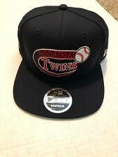 Minnesota Twins New Era 9FIFTY MLB Snapback Hat Cooperstown Retro Swoop 2018
