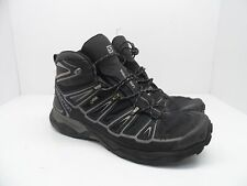 Salomon Men's X Ultra Mid 2 GTX Multifunctional Hiking Boot Black/Aluminum 12M