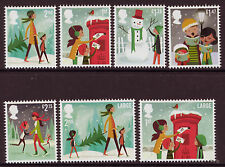 Seasonal, Christmas Decimal Used British Stamps