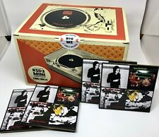 RSD Crosley Mini Turntable w/ Foo Fighters Big Me and Set of 4 Third Man Records