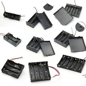 Batteriehalter AA Mignon R6 Batteriebox 1x/2x/3x/4x/6x Zellen Schalter
