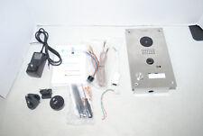 DoorBird D202 WiFi Video, Flush Edition, Stainless Steel, Motion Sensor Doorbell
