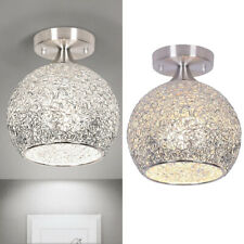 E27 Modern Crystal LED Ceiling Lamp Hanging Pendant Fixture Chandelier Decor