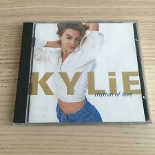 Kylie Minogue _ Rhythm of Love _ CD Album _ 1990 PWL Holland No Barcode _ RARE