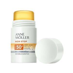 ANNE MOLLER Non stop SPF50+ Stick solare invisibile per zone delicate 25 g