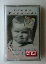 Dedicated To The One I Love by Linda Rostadt Rare 96 Malaysia Cassette Brand New