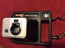 Vintage 1979 Kodak Handle 2 Instant Film Camera with Case & Manual (HD1)