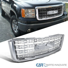 07-13 GMC Sierra 1500/ 2500LD Chrome ABS Mesh Honeycomb Upper Front Grill Grille