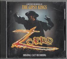 Zorro - Original London Cast Recording, The Gypsy Kings Musical CD Soundtrack