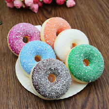 1Pc Cute Squishy Doughnut Slow Rising Scented Squeeze Stress Reliever Toys 7CM