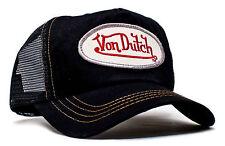 Da van Dutch Mesh Trucker base Cap [Classic Black/Black] Cappello Berretto Basecap di