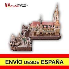 Puzzle 3D LA IGLESIA DE SAN MATÍAS CubicFun Educativo 176 Piezas a0074