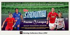 2016 Topps Stadium Premier League Soccer Card Box (16PK)-2 Autos per box!