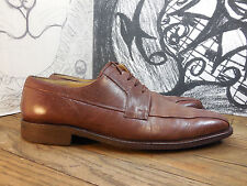 Men's Guido Brown Leather Oxfords Size 10UK, 11US Medium