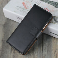 For Huawei P8 P9 P10 P20 Lite Pro Genuine Leather Wallet Cover Flip Stand Case