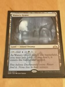 Watery Grave - Guilds of Ravnica [NearMint] [Magic MTG] [Rare]