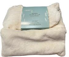 Pottery Barn Lavender Spa Socks and Eye Mask Microwavable Warming Sz S / M