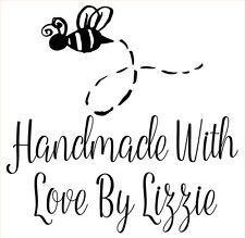 Sello de goma Láser Personalizados-hecho a mano por: Busy Bee