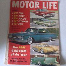 Motor Life Magazine Ford Chevy Plymouth Dart July 1960 060817nonrh