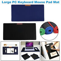 Large Ultra-Thin Anti-Slip Table Cover Computer Keyboard Game Mouse Pad Mat lot