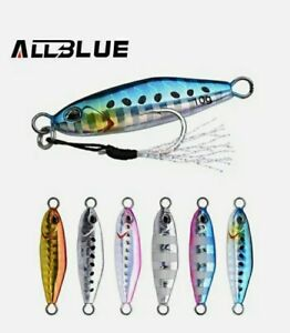 Artificiale Spinning Metal Jig Allblue 5/7 Gr Drager Micro