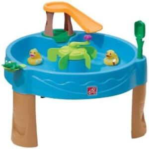 Step2 Duck Pond Water Table Kids Children Spin Safe Fun Party Outdoor Indoor New