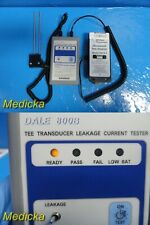 Siemens Dale 800b Tee Transducer Leakage Current Tester With Test Adapter 22049