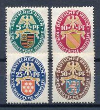 Briefmarken aus dem deutschen Reich (1924-1932) m. Falz als Satz