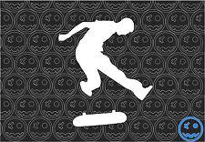 SKATE DECAL KICKFLIP 135mm High Skatboarding Surf Car Deck Sticker.
