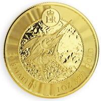2018 1oz Cayman Islands Marlin .9999 Gold Coin in CertiLock #A451