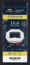 2016 Us Open Tennis Ticket Stub Book Set Wawrinka Djokovic Sessions 1-24 W/Final