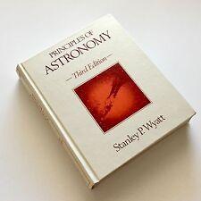 Principles of Astronomy Third Edition Stanley Wyatt 1977 Stars Solar System Sun