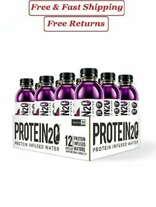 Protein2o, Protein Infused Water, Harvest Grape 16.9 fl., oz, 12 pk.