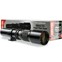 Opteka 1000mm Telephoto Lens for Nikon D3000 D3100 D3200 D3300 D3400 D3500 D5000