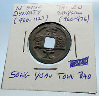 960AD CHINESE Northern Song Dynasty Antique TAI ZU Cash Coin of CHINA i71587