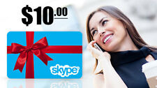 SKYPE AUD$10 Prepaid gift card 17% off  ( fast free E-delivery in 12 hrs )