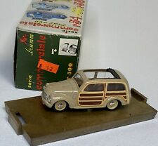 Brumm Italy 1/43 Fiat 500 Commercial Series Collectible Diecast Model Car r48
