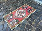 Handmade vintage rug, Turkish small rug, Carpet, Bohemian rug | 1,7 x 3,2 ft